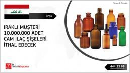 Pharmaceutical bottles import – Iraq