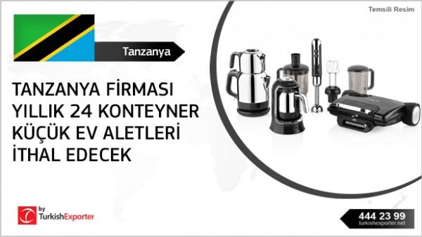 Small home appliances importing – Tanzania