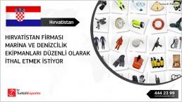 Requiring of nautical and marine equipment to import to Croatia