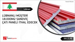 Sandwich Panel required to import to Lebanon