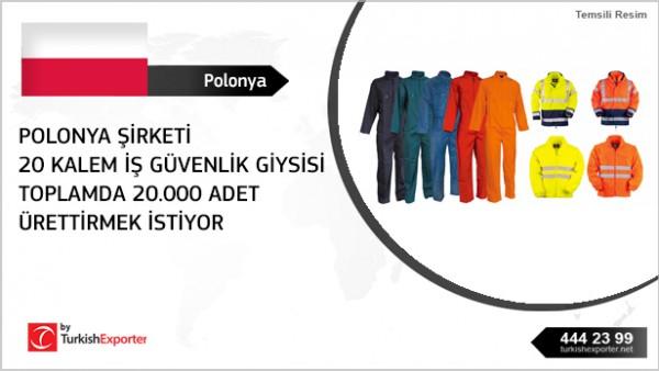 Workwear importing – Poland