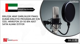 Voice-enhancing microphone import to UAE