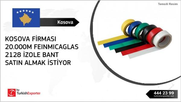 To import to Kosovo – insulation tape