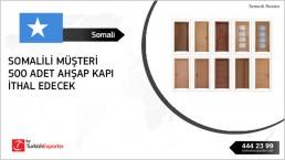 Import request Wood doors – Somalia