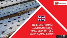 Plastic mulch film importing request – United Kingdom