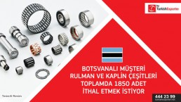 Bearing and accessories import to Botswana