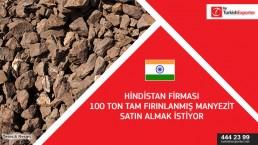 Deadburnt magnesite import to India
