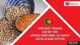 Red lentils importing request – Portugal
