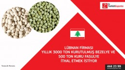 Importing request of drieo pea and white beans – Lebanon