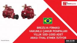 Sliding vane rotary vacuum pump – importing – Brazil