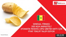 Enquiry for Potato Chips Line to set up to Senegal