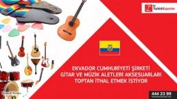 Accessories for music instruments request – Ecuador