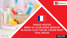 Care Products for Kids and Baby to import to France