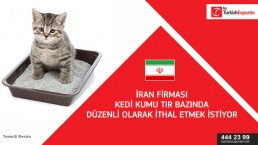 Importing cat litter to Iran