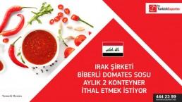 I want factory to produce tomato sauce