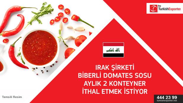 ırak- domates sosu