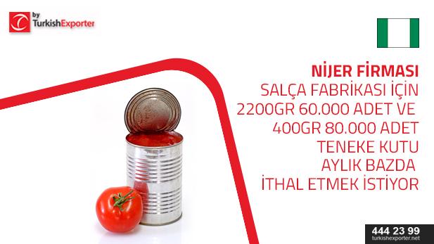nijerya- salça kutusu