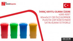 We are looking for Plastic Bins for warehouse (4000 pieces) size  (60x40x31) cm