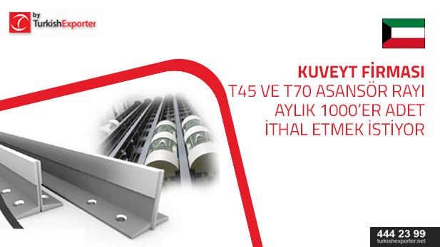 kuveyt-asansör rayı