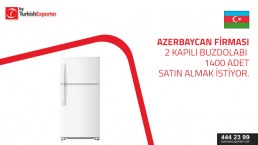 Hi, I need 1400 pieces of 2-door refrigerators to deliver to Baku, please contact to talk the details