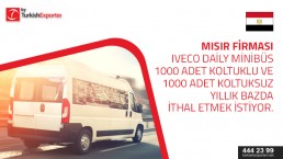 Hi , i need to connect with the Export manager for IVECO bus company Actually I need to study the possibilities to import some certain Bus models from Turkey (IVECO) to Egypt.