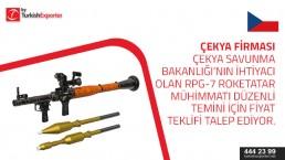 Price offer for RPG ammunition – Czechia