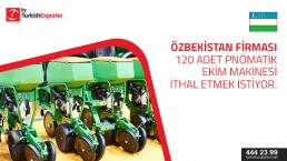 Buy request for Pneumatic Planter to import to Uzbekistan