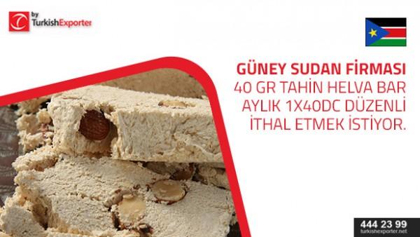 Tahini bars – to buy – South Sudan