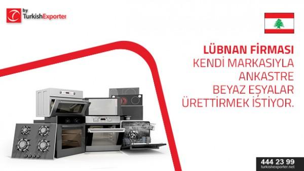 White Goods to import to Lebanon