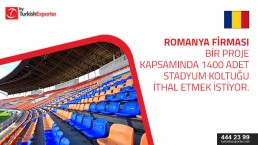 Request for 1400 stadium seat to import to Romania