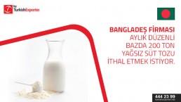 Skimmed Milk Powder to import to Bangladesh