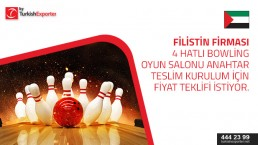 Bowling Equipments – price request – Palestine