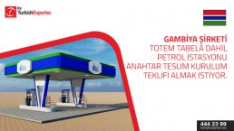 Fuel Station Canopy and Totem – import – Gambia