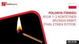 Matches – buying request – Poland