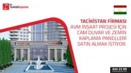 Glass ceilings – buying request – Tajikistan