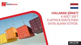 Flatpack containers to import to Netherlands