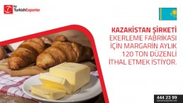 Looking for Margarine to import to Kazakhstan