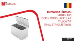 Chest Freezer to import to Romania
