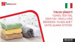 Towels price request from Italy