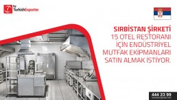 Restaurants and hotel equipments import to Serbia